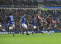 Leeds United's Jack Harrison  scores his sides second goal <br /> <br /> Photographer Mick Walker/CameraSport<br /> <br /> The EFL Sky Bet Championship - Sunday 29th December 2019 - Birmingham City v Leeds United - St Andrew's - Birmingham<br /> <br /> World Copyright © 2019 CameraSport. All rights reserved. 43 Linden Ave. Countesthorpe. Leicester. England. LE8 5PG - Tel: +44 (0) 116 277 4147 - admin@camerasport.com - www.camerasport.com