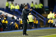 Marco Silva of Everton during the EFL Cup match between Sheffield Wednesday and Everton at Hillsborough, Sheffield, England on 24 September 2019.