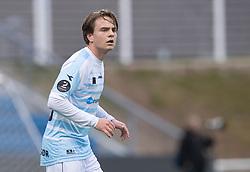 Tobias Christiansen (FC Helsingør) under træningskampen mellem FC Helsingør og Fremad Amager den 18. januar 2020 på Helsingør Ny Stadion (Foto: Claus Birch)