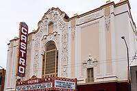 United States, California, San Francisco. The Castro. Castro Theatre movie palace.