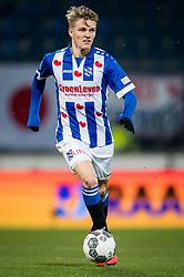 Martin Odegaard of sc Heerenveen during the Dutch Eredivisie match between sc Heerenveen and Roda JC Kerkrade at Abe Lenstra Stadium on February 10, 2018 in Heerenveen, The Netherlands