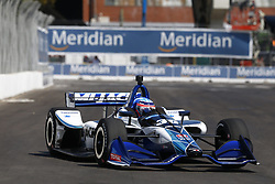 July 13, 2018 - Toronto, Ontario, Canada - TAKUMA SATO (30) of Japan takes to the track to practice for the Honda Indy Toronto at Streets of Exhibition Place in Toronto, Ontario. (Credit Image: © Justin R. Noe Asp Inc/ASP via ZUMA Wire)