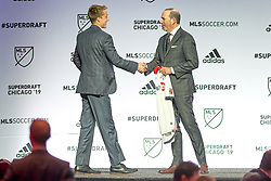 January 11, 2019 - Chicago, Illinois, United States - Chicago, IL - Friday January 11, 2019: The MLS SuperDraft 2019 presented by adidas at McCormick Place. (Credit Image: © Robin Alam/ISIPhotos via ZUMA Wire)