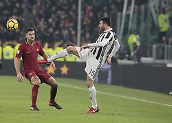 December 23, 2017 - Turin, Italy - Andrea Barzagli during Serie A match between Juventus v Roma, in Turin, on December 23, 2017  (Credit Image: © Loris Roselli/NurPhoto via ZUMA Press)
