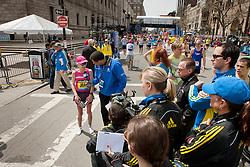 2013 Boston Marathon: Joan Samuelson TV interview post-race