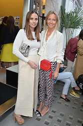 Left to right, ANNA LAUB founder of Prism and MARTHA WARD at the Prism Boutique Summer Party held at Prism, 54 Chiltern Street, London on 14th May 2014.