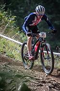 Luke Vrouwenvelder (USA) at the 2018 UCI MTB World Championships - Lenzerheide, Switzerland