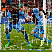 Trabzonspor's Carl Medjani during their Turkish Super League match Trabzonspor between Gaziantepspor at the Avni Aker Stadium at Trabzon Turkey on Wednesday, 28 October 2015. Photo by Aykut AKICI/TURKPIX