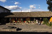 Ecuador, May 25 2010: Hacienda San Agustin del Callo. Copyright 2010 Peter Horrell