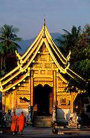 Thailande - <br /> Province de Chiang Mai - Chiang Mai<br /> Wat Phra Sing Luang