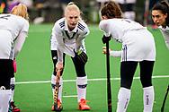 LAREN -  Hockey Hoofdklasse Dames: Laren v Pinoké, seizoen 2020-2021. Foto: Daphne van der Vaart (Pinoké)
