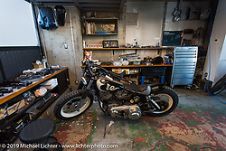Visit to Hideya Togashi's Hide Motorcycle's shop. Tokyo, Japan. Tuesday, December 9, 2014. Photograph ©2014 Michael Lichter.