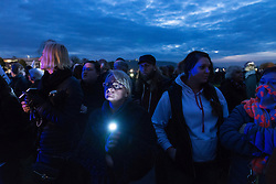 October 24, 2016 - Krakow, Poland - Second wave of protests regarding tighter abortion law was held on Sunday and Monday in many cities Poland. (Credit Image: © Tomasz ?Wiertnia/Pacific Press via ZUMA Wire)