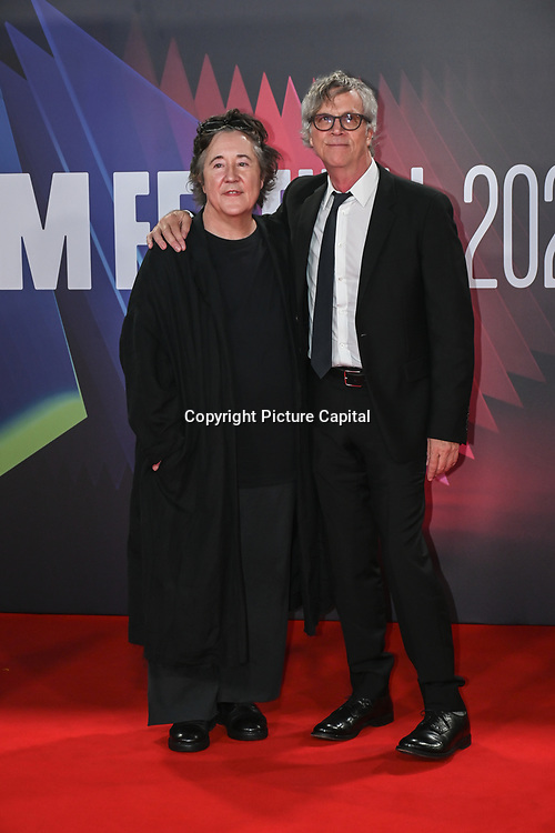 Christine Vachon and Todd Haynes arrives at The Velvet Underground - UK Film Premieres 2021 at Southbank Centre, Royal Festival Hall, London, 8 October 2021.