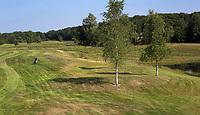 OUDEMIRDUM - Hole 1. Golfclub Gaasterland ligt in Zuidwest-Friesland en heeft een schitterende 9 holes natuurbaan. COPYRIGHT KOEN SUYK