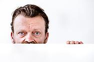 Frank Hvam, komiker og skuespiller, er aktuel i den nye film Dan-Dream sammen med Casper Christensen.