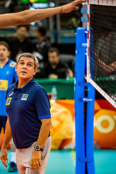 06-10-2018 JPN: World Championship Volleyball Women day 7, Nagoya<br /> Press conference coaches group Nagoya after training day for Netherlands and Brazil / Coach Jose Roberto Lages Guimaraes of Brazil