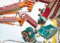Saving a seat for you at the Fair.  (Karen Bobotas Photographer)
