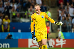 July 11, 2018 - Moscow, Russia - 180711 Goalkeeper Jordan Pickford of England during the FIFA World Cup semi final match between Croatia and England on July 11, 2018 in Moscow..Photo: Petter Arvidson / BILDBYRÃ…N / kod PA / 92085 (Credit Image: © Petter Arvidson/Bildbyran via ZUMA Press)