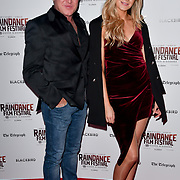 Michael Flatley and Victoria Brown attend Blackbird - World Premiere with Michael Flatley at May Fair Hotel, London, UK. 28th September 2018.