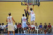 DESCRIZIONE : Varallo Torneo di Varallo Lega A 2011-12 EA7 Emporio Armani Milano Banco di Sardegna Sassari<br /> GIOCATORE : Nika Metreveli<br /> CATEGORIA : Tiro Penetrazione Stoppata<br /> SQUADRA : Banco di Sardegna Sassari<br /> EVENTO : Campionato Lega A 2011-2012<br /> GARA : EA7 Emporio Armani Milano Banco di Sardegna Sassari<br /> DATA : 11/09/2011<br /> SPORT : Pallacanestro<br /> AUTORE : Agenzia Ciamillo-Castoria/A.Dealberto<br /> Galleria : Lega Basket A 2011-2012<br /> Fotonotizia : Varallo Torneo di Varallo Lega A 2011-12 EA7 Emporio Armani Milano Banco di Sardegna Sassari<br /> Predefinita :