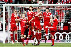 27.03.2010, Allianz Arena, Muenchen, GER, 1. FBL, FC Bayern Muenchen vs VFB Stuttgart, im Bild Bastian Schweinsteiger (FC Bayern Nr.31) Arjen Robben (FC Bayern Nr.10) Thomas Mueller (FC Bayern Nr.25) Miroslav Klose (FC Bayern Nr.18) Mark van Bommel (FC Bayern Nr.17) und Franck Ribéry (FC Bayern Nr.7)  , EXPA Pictures © 2010, PhotoCredit: EXPA/ nph/  Straubmeier / SPORTIDA PHOTO AGENCY