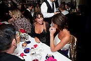 TAMARA MELLON; VICTORIA MELLON, Dinner hosted by editor of British Vogue, Alexandra Shulman in association with Net-A-Porter.com in honour of 25 years of London Fashion Week and Nick Knight. Caprice. London.  September 21, 2009