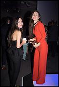MARIANA GOGOVA; MADINA GOGOVA, Sotheby's Frieze week party. New Bond St. London. 15 October 2014.