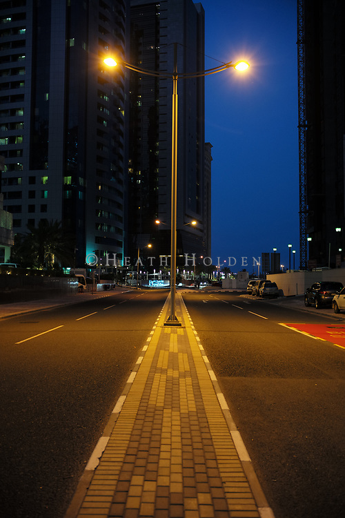 Street and cityscapes from Doha, Qatar.