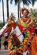 Pau Rider, Kamehameha Day Parade, Honolulu, Hawaii