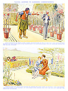 Tactful Answers to Gardening Correspondents. Head Gardener - No doubt it was a great disappointment to you to find that your favourite show blossom had been picked, and in the circumstances it is quite intelligible that you should be looking out for another situation. Garden Lover - We are always pleased to answer any query from our readers. From your description your garden is too exposed. Let your hedge grow another four feet and you will have all the protection you require.
