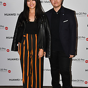 Cheng Ping Chong and Wai Wai Yee attend Huawei - VIP celebration at One Marylebone London, UK. 16 October 2018.