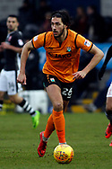 Dan Sweeney of Barnet in action. EFL Skybet Football League two match, Barnet v Lincoln City at the Hive in London on Saturday 20th January 2018. <br /> pic by Steffan Bowen, Andrew Orchard sports photography.