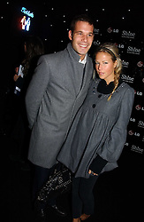 ARCHIE KESWICK and ALICE RUGGE PRICE at the launch of he LG 'Shine' Black Label Series mobile phone held at Cirque, Leicester Square, London W1 on 7th February 2007.<br /><br />NON EXCLUSIVE - WORLD RIGHTS