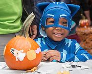 Middletown, New York - Children  enjoy the YMCA of Middletown's Halloween Fall Festival at The Center for Youth Programs on Oct. 22, 2016.