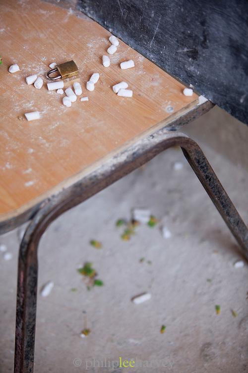 Chalk, Dixsam School, Dixsam, Socotra, Yemen