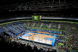 Arena during basketball match between National teams of Slovenia and Ukraine in 5th Place game at Day 18 of Eurobasket 2013 on September 21, 2013 in Arena Stozice, Ljubljana, Slovenia. (Photo by Vid Ponikvar / Sportida)