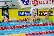 RUCK Taylor CAN<br /> 100 Freestyle Women Heats<br /> Day02 26/08/2015 - OCBC Aquatic Center<br /> V FINA World Junior Swimming Championships<br /> Singapore SIN  Aug. 25-30 2015 <br /> Photo A.Masini/Deepbluemedia/Insidefoto