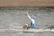 Motherwell, SCOTLAND. Sun A  Finals, ITA BLM4X Gold Medallist, 2007 FISA U23 World Championship Regatta, Strathclyde Country Park, North Lanarkshire 29/07/2007 [Mandatory credit Peter Spurrier/ Intersport Images]