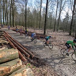 23-03-2019: Wielrennen: Drentse Dorpenomloop: Assen<br />-wielrennen - Assen - Drenthe - KNWU <br />-26- Adrie Lindeman,  -55- Gino Luca Vierhouten