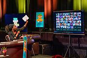 ALKMAAR, 25-11-2020, Podium Victorie<br /> <br /> Koningin Maxima digitaal aanwezig bij de ondertekening van het MuziekAkkoord Noord Noord-Holland, het lokale samenwerkingsconvenant voor muziekonderwijs op de basisschool. Het akkoord is een onderdeel van het programma Méér Muziek in de Klas Lokaal van de stichting Méér Muziek in de Klas, waar Koningin Máxima erevoorzitter van is. De presentatie van het akkoord vindt plaats vanuit Podium Victorie in Alkmaar en is live te volgen op de YouTube pagina van Méér Muziek in de Klas.
