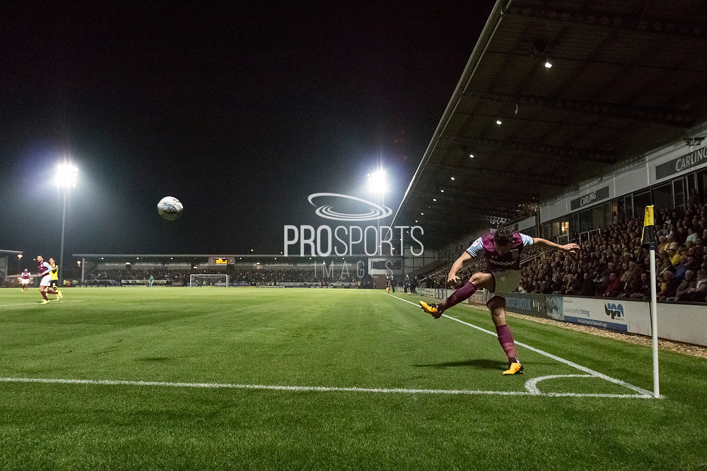 General view of the match action during the EFL Sky Bet Championship match between Burton Albion and Aston Villa at the Pirelli Stadium, Burton upon Trent, England on 26 September 2017. Photo by Richard Holmes.