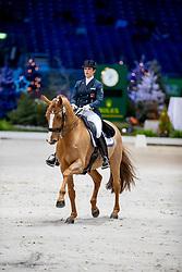 JOANNOU Antonella (SUI), Dandy de la Roche CMF CH<br /> Genf - CHI Rolex Grand Slam 2018<br /> Grand Prix de Dressage<br /> 06. Dezember 2018<br /> © www.sportfotos-lafrentz.de/Stefan Lafrentz