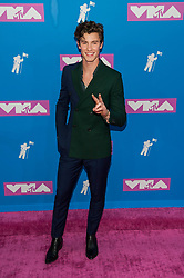 August 21, 2018 - New York City, New York, USA - 8/20/18.Shawn Mendes at the 2018 MTV Video Music Awards at Radio City Music Hall in New York City. (Credit Image: © Starmax/Newscom via ZUMA Press)