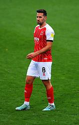 Chris Clements of Cheltenham Town- Mandatory by-line: Nizaam Jones/JMP - 31/10/2020 - FOOTBALL - Jonny-Rocks Stadium - Cheltenham, England - Cheltenham Town v Forest Green Rovers - Sky Bet League Two