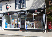 Small local Post Office shop in Fore Street, Ipswich, Suffolk, England, UK