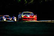 September 30-October 1, 2011: Petit Le Mans at Road Atlanta. 51 Giancarlo Fisichella , Gianmaria Bruni, Pierre Kaffer, Ferrari F458, AF Corse