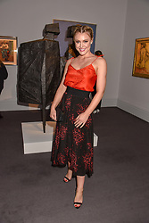Camilla Kerslake at the Women for Women International #SheInspiresMe Auction held at Sotheby's New Bond Street, England. 19 November 2018. <br /> <br /> ***For fees please contact us prior to publication***