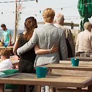 """NLD/Amsterdam//20170601 - Boekpresentatie """"En Nu Ik"""" van Peter Römer en partner Annet Hock , Thijs Romer en partner Igone de Jong"""