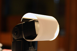 18 April 2007: Camera flash light modifier by Alan Look